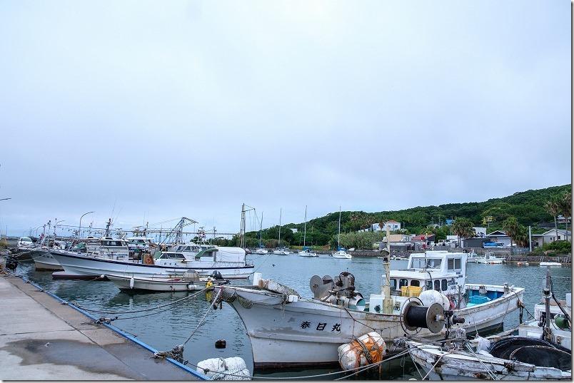 「つやざき漁港食堂」空と海(福岡県福津市)