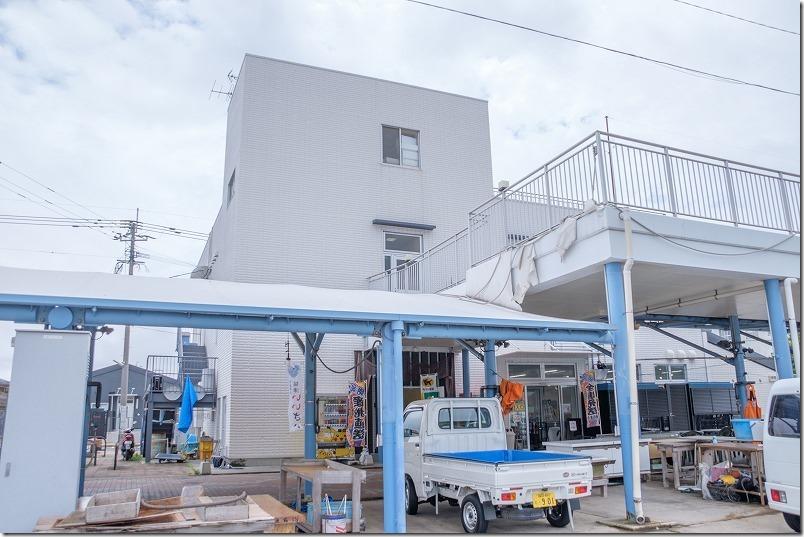 「つやざき漁港食堂」空と海(津屋崎漁港直売所2F)