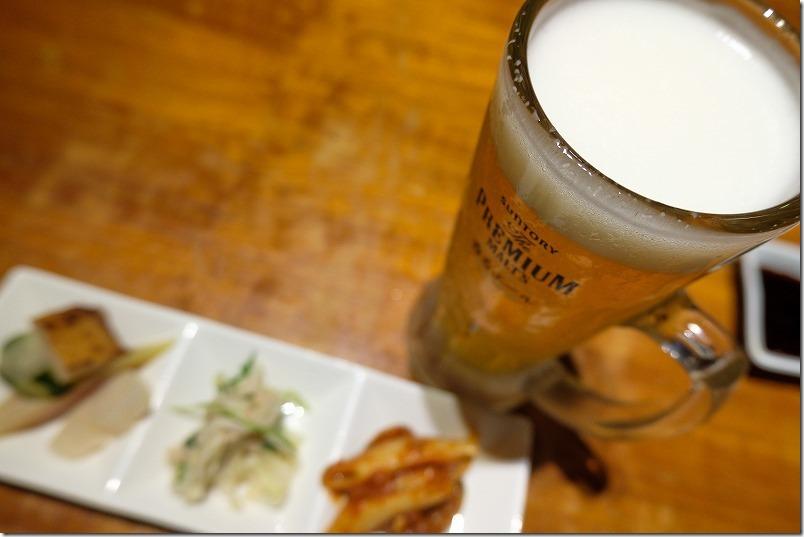 六本松、SAIBEI(彩平)で生ビール