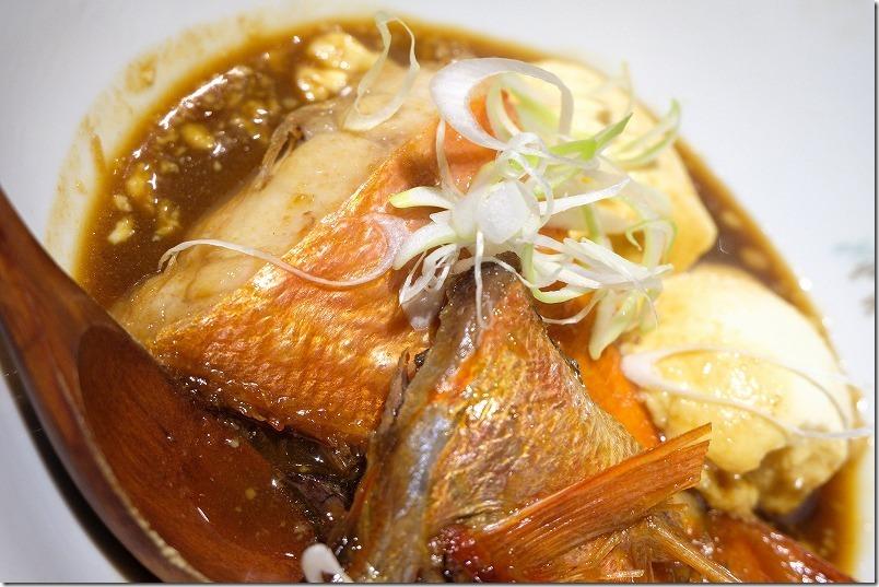 六本松、SAIBEI(彩平)のキンメの煮付け