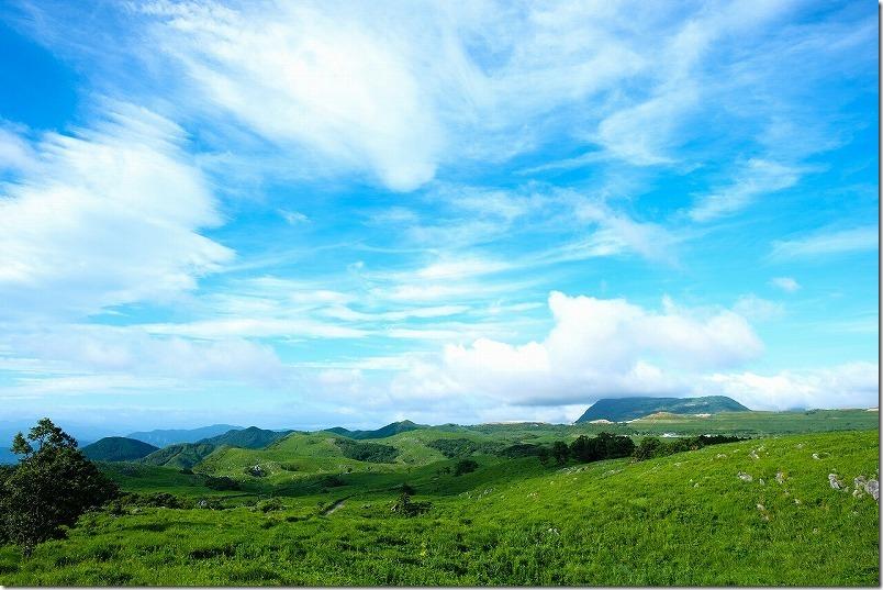 平尾台、茶ヶ床園地からの絶景