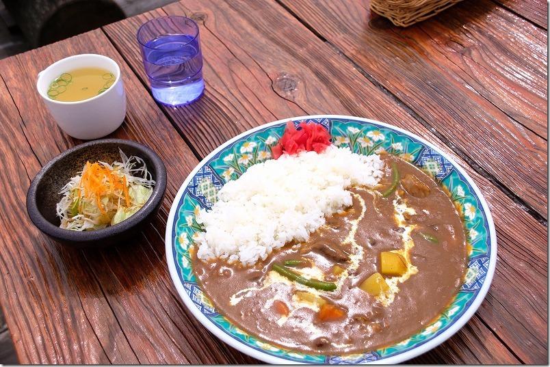 阿蘇レストラン北山の赤牛カレー