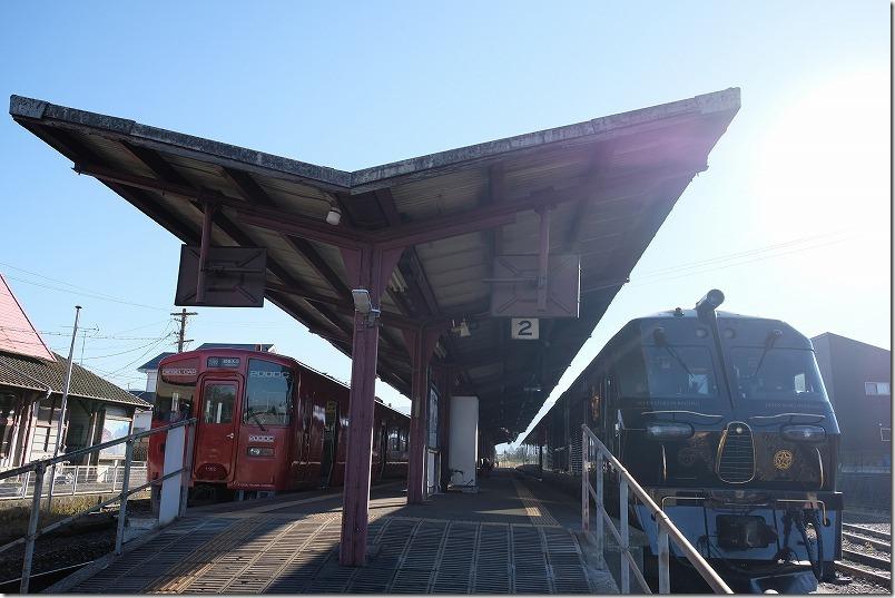 みんなの九州きっぷ(北部九州)、宮地駅でななつ星