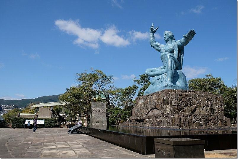 長崎・浦上駅周辺を散策、平和記念公園