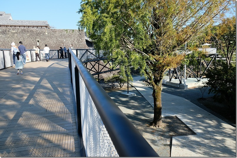熊本城,復興見学ルート遊歩道