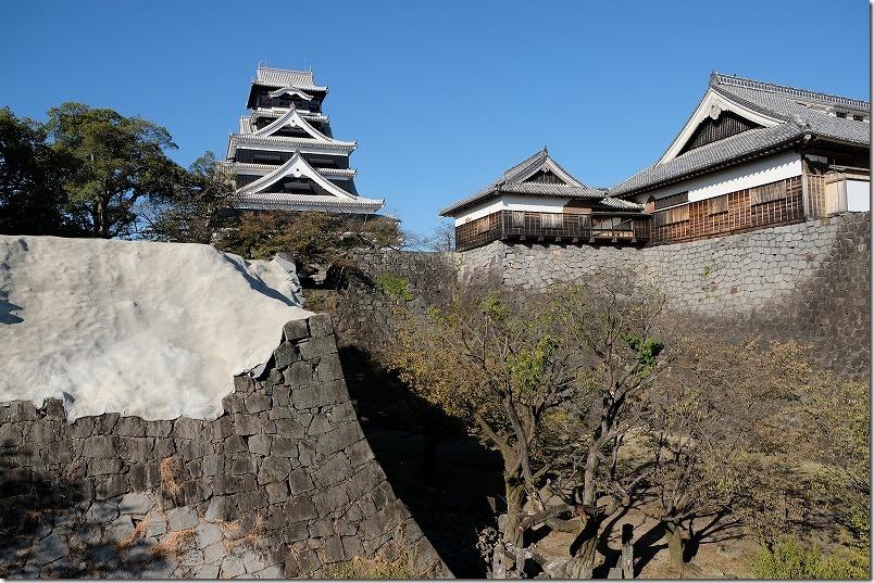 熊本城,復興見学ルート
