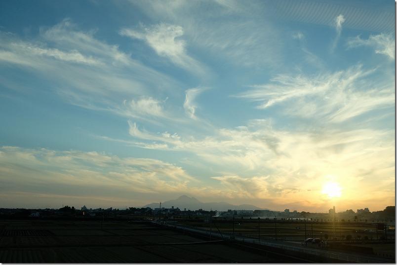 800系九州新幹線から車窓