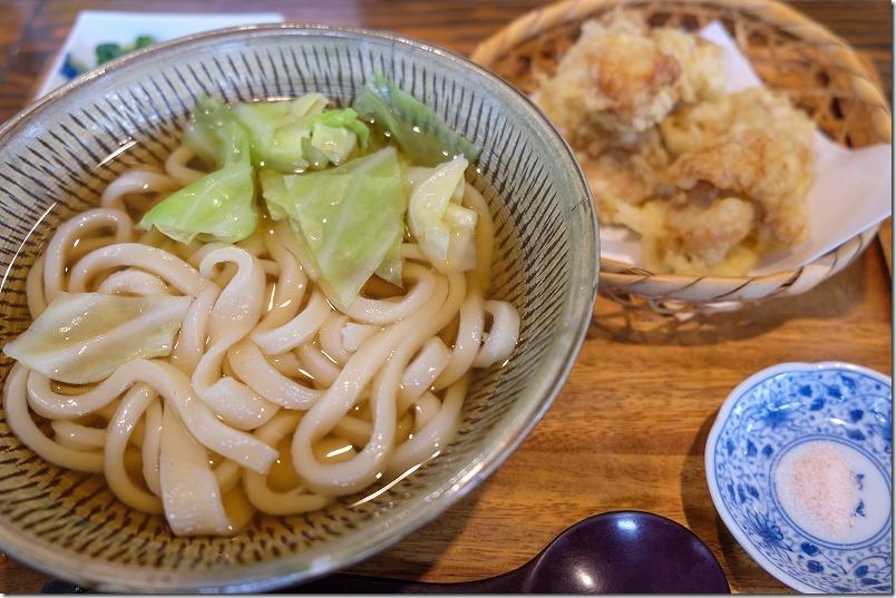 富士吉田うどんの「たかむら」、日田