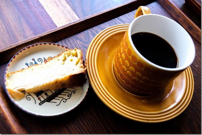 長湯温泉ジプシースマイルカフェ、コーヒー
