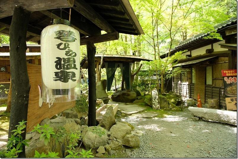 大分県日田市の琴平温泉