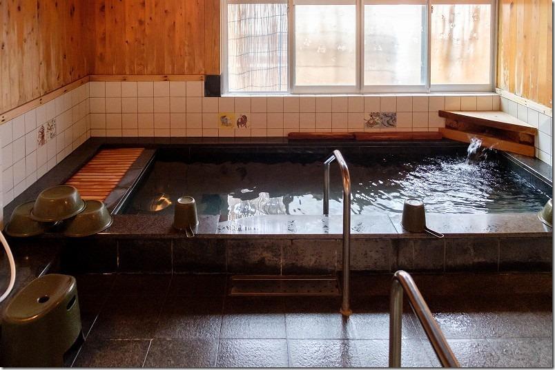 妙法寺温泉、飛竜之湯の泉質