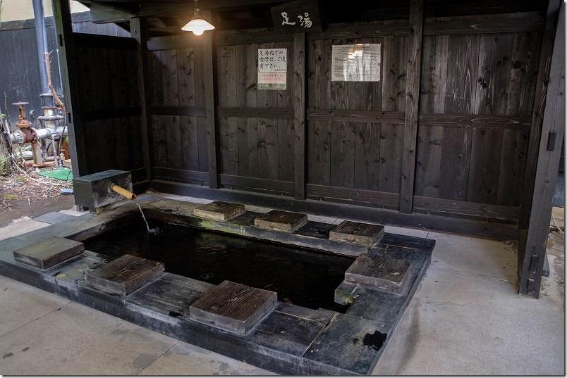 筋湯温泉「うたせ湯」の足湯